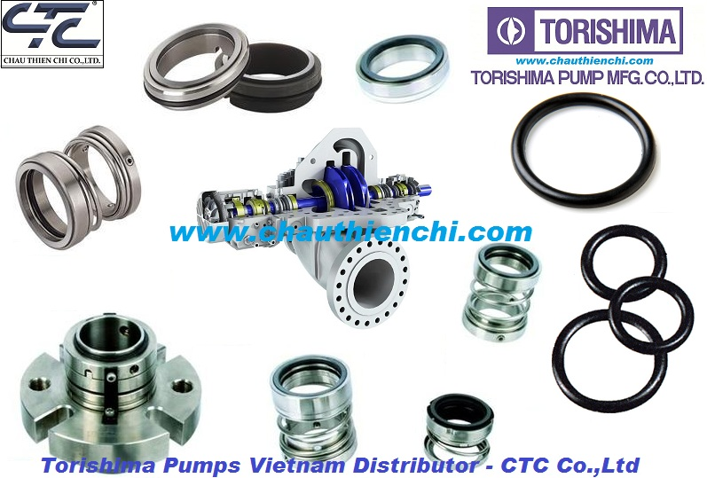 Mechanical Seal Torishima pump Vietnam distributor