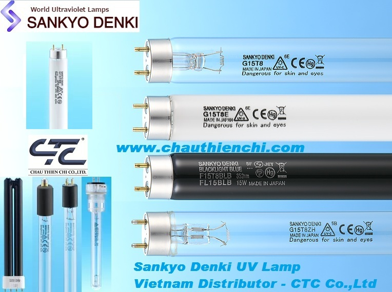 Bóng đèn UV Sankyo Denki Vietnam Distributor CTC Co ltd