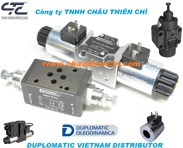 Van điện từ Duplomatic Vietnam distributor CTC Co ltd